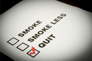 checklist to quit smoking or vaping